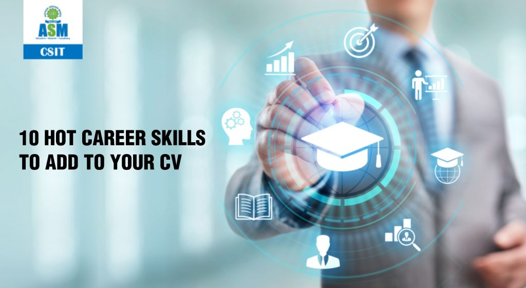 HOT career skills to add to your CV