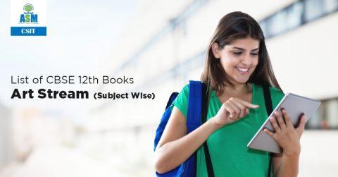 List of CBSE 12th Books